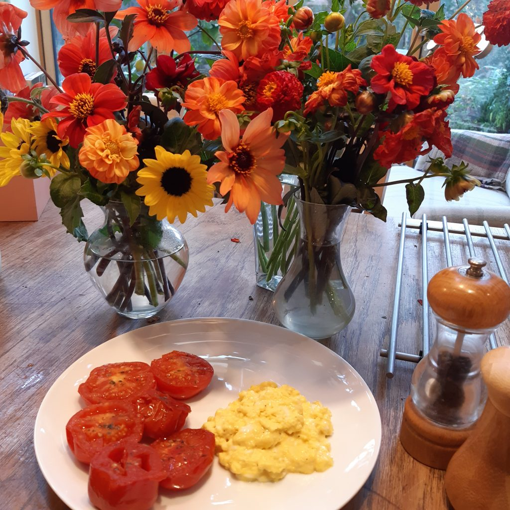 Colour coordinated breakfast!